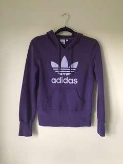 Vintage Adidas Purple Hoodie