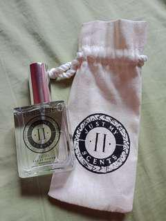JUST MY II SCENTS PERFUME,BEAUTY SOAP,TESTER VIALS IN POUCH