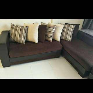 King Koil L Shape Sofa very good condition