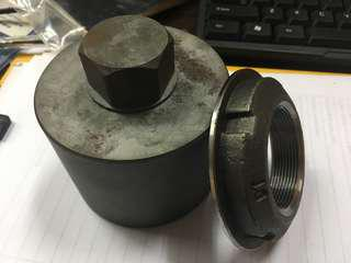 Scania 70mm 4 lug transmission socket tool