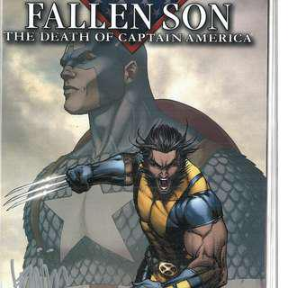 Fallen Son: The Death of Captain America Complete Set