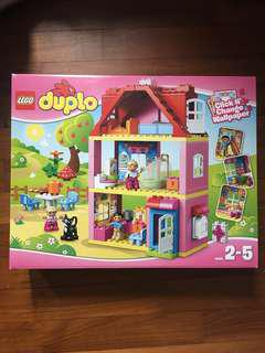 Lego duplo 10505 family house doll house