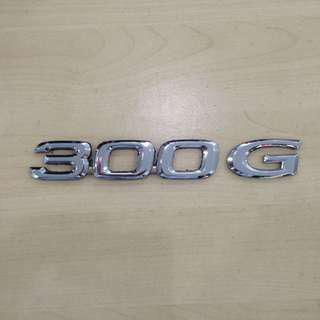 300 G Emblem for Toyota harrier ACU 30