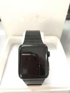 APPLE WATCH ORIGINAL AUTHENTIC 42MM BLACK STAINLESS STEEL