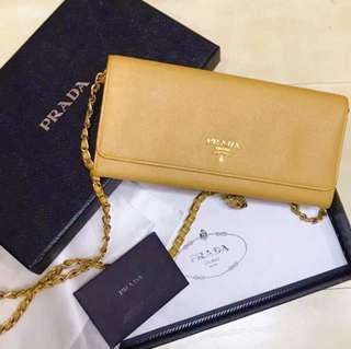 3a0b0ca6a6b3 prada bag wallet on chain | Bags & Wallets | Carousell Singapore