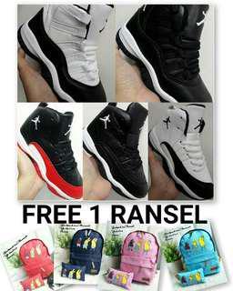 Sepatu Basket Anak Jordan Sepatu Jordan Bonus Tas