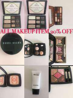 All Makeup items 20% off