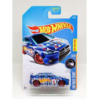 HOT WHEELS 2017 HW RACE TEAM 2008 LANCER EVOLUTION