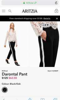Aritzia Wilfred Darontal Dress Pants