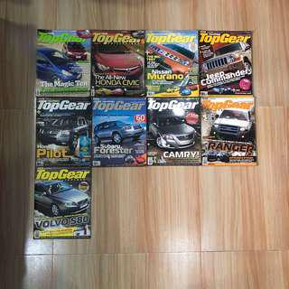 Top Gear Philippines 2006 issues