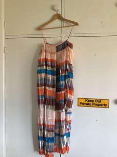 HIRE: Sass and bide multicolour flutter dress