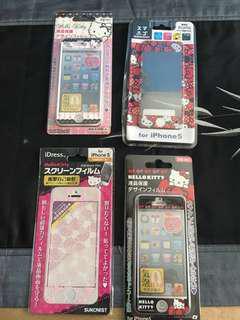 BN: iPhone 5 Hello Kitty Screen Protector