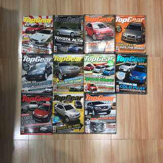Top Gear Philippines 2008 complete issues
