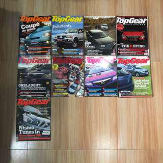 Top Gear Philippines 2005 issues