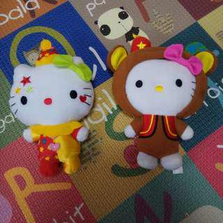 McDonald's hello kitties 2013