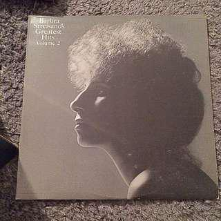 barbara streisand geatest hits volume 2 vinyl