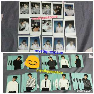 WTS W1 summer store polaroids and luggage pcs (instocks)