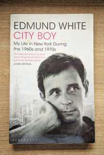 City Boy by Edmund White (Biography)