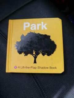 Park - lift the flap - baby board book