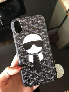 Iphone X Karl Lagerfeld Soft Case