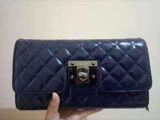 Chane navy sling bag (Not ori)