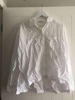 Abercrombie and Fitch white shirt