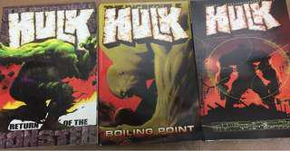The incredible Hulk trade paperbacks