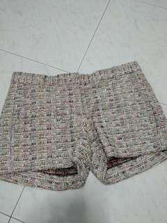 Hartford classic multicolored tweed shorts