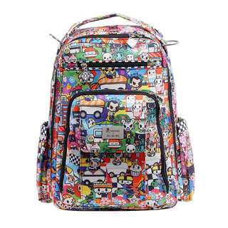 Ju-Ju-Be Tokidoki Collection Be Right Back Backpack Diaper Bag, Sushi Cars