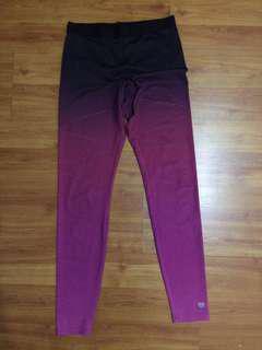 Forever 21 Ombre Gym leggings