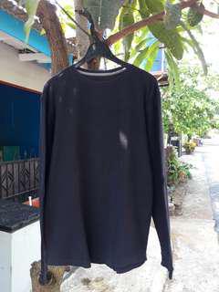 BU jual murah! T-Shirt Black long sleeve