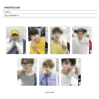 [PO] BTS Memories of 2017 Blu-ray photocard