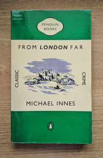 From London Far by Michael Innes (Classic Fiction)