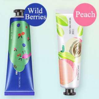 Fruit Flavor Hand Cream ( BUY 2 TUBES ONLY FOR RM15 ! )
