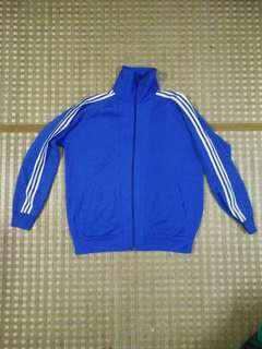 3 Stripe Blue Windbreaker Sportwear