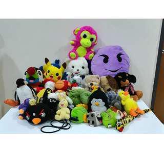 Big Bag of Soft Toys