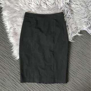 Portmans Charcoal Work Skirt size 8