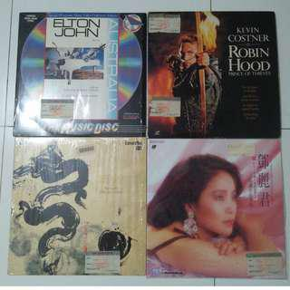 Old Laser Disc $18 each Self collect at Blk 208b Punggol place