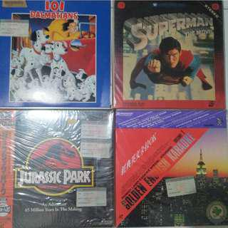 Old Laser Disc $18 each. Self collect at Blk 208b Punggol place