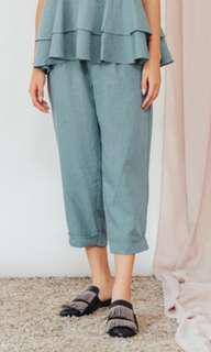 New Shopataleen Anya Pants Green
