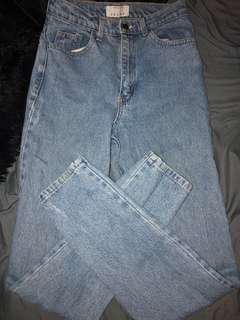 American Apparel High Waisted Jean - Sz 27