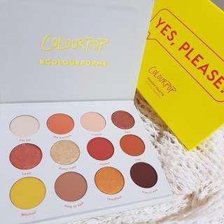 Colourpop eyeshadow palettes