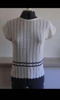 Vintage knit top size 8