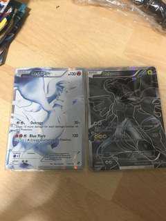 Pokemon TCG Reshiram and Zekrom FA
