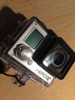 GoPro Hero 3+ Silver with LCD
