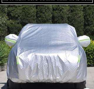 Car cover for compact car  車太陽擋