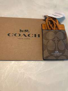 Brand New Authentic Coach Lanyard