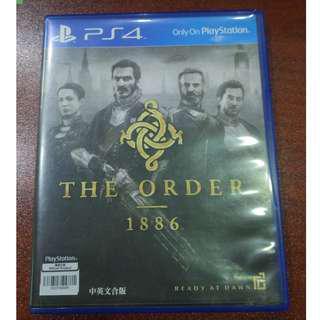 PS4 Game 遊戲 The Order 1886 中英文合版