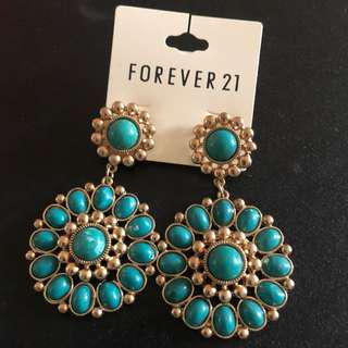 Earrings forever 21 Topshop
