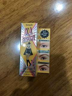 Benefit Kabrow Cream Gel Brow Color with Brush Shade 3
